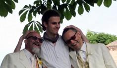 Fausto ed Elvin, papà a 50 anni