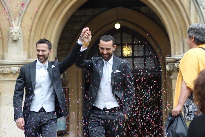 Stefano e Antonio, sposi a Londra